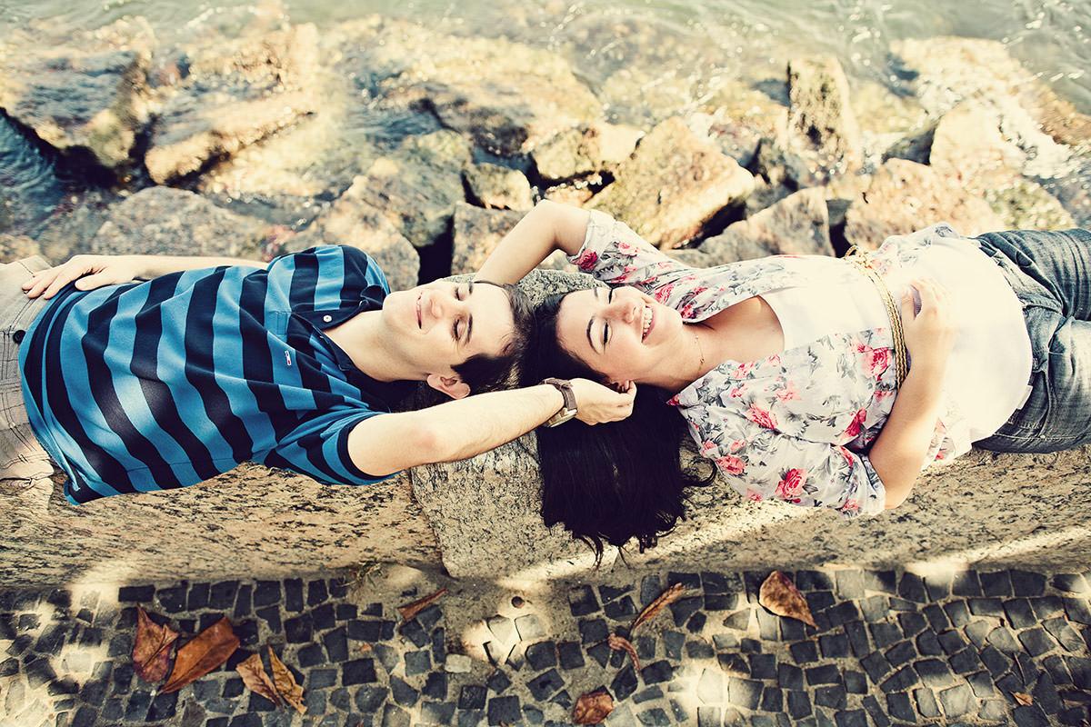 Ensaio Fotográfico de Casal: Aline e Felipe