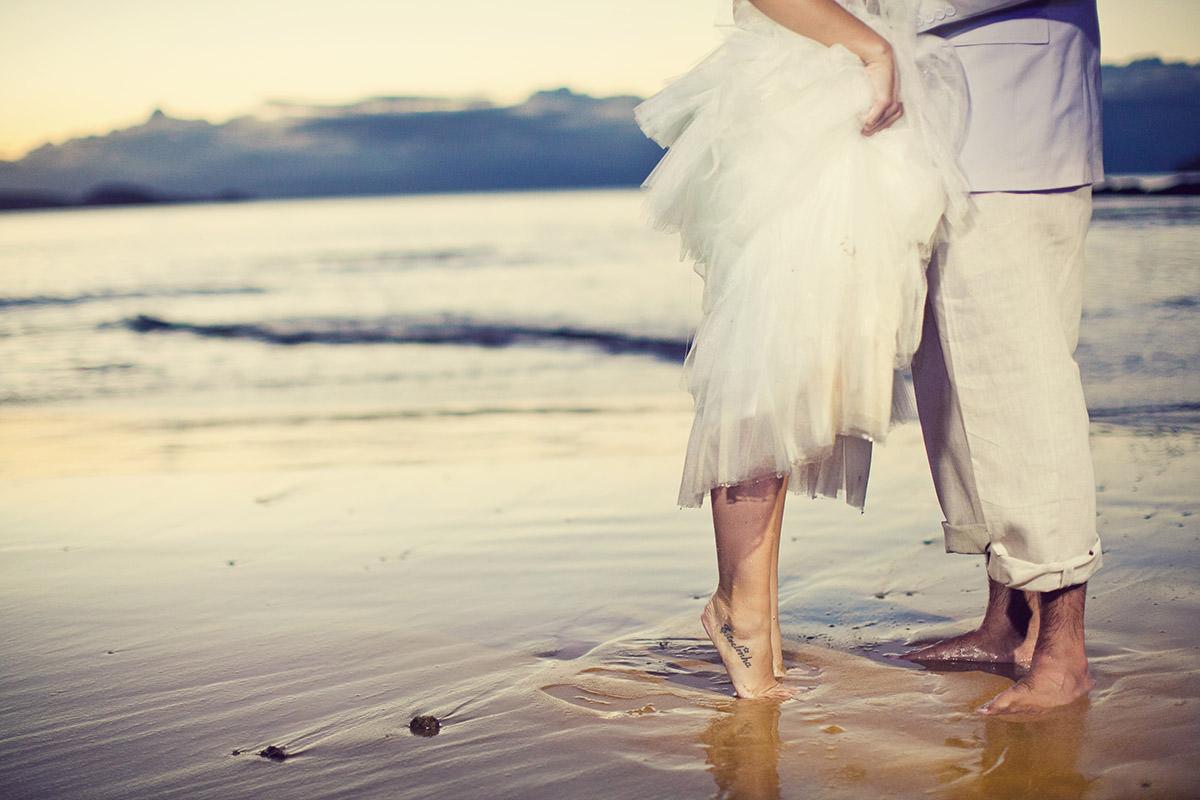 Casamento na Praia - Ivy e Alan em Búzios