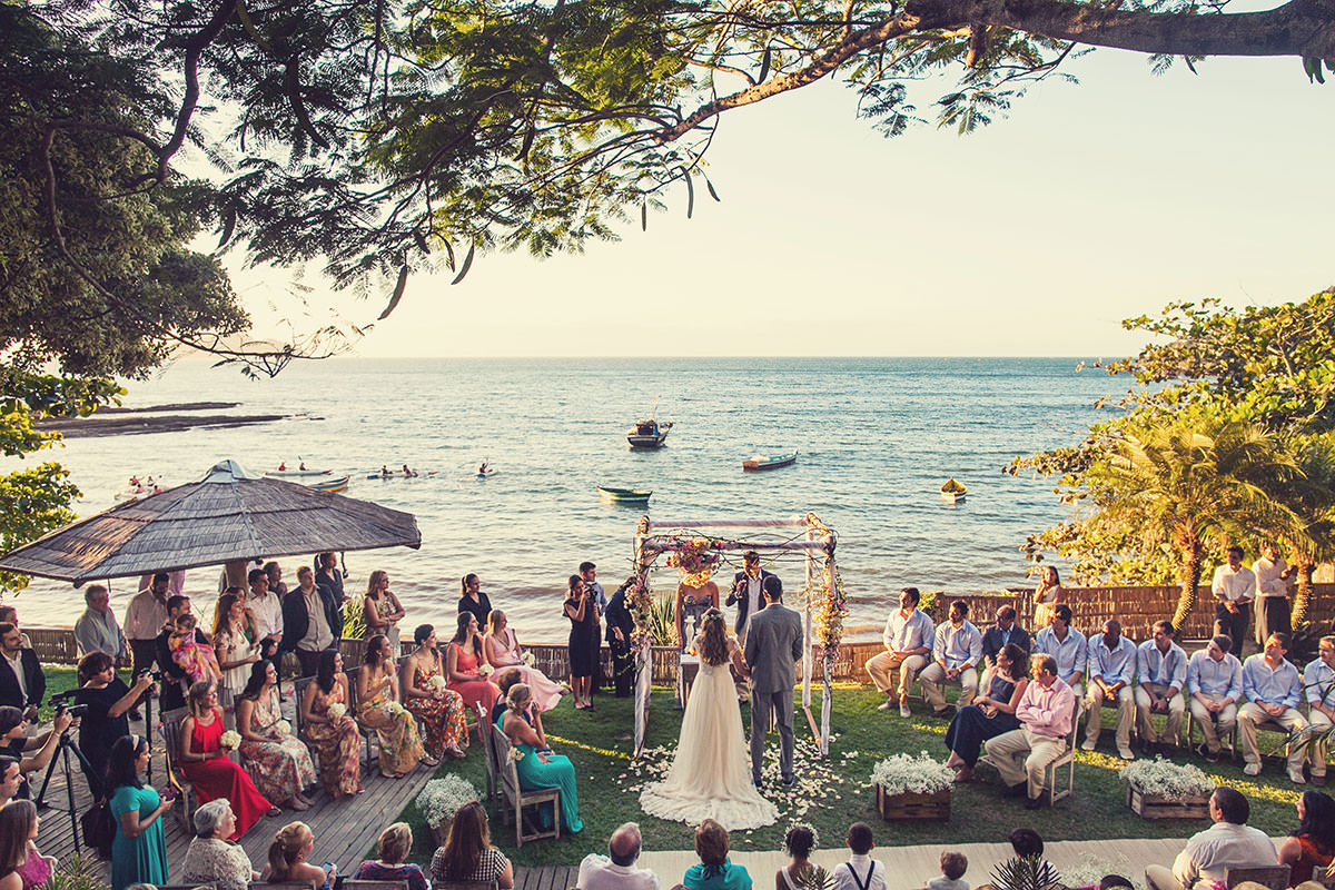 Juliana e Daniel - Casamento na Praia da Tartaruga - Búzios