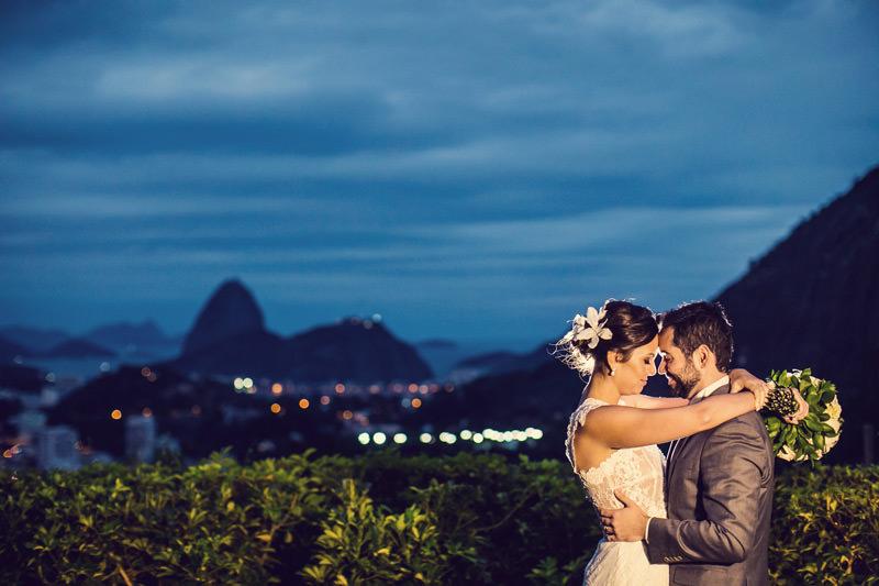 Luciana e Oziel - Casamento na Casa de Santa Teresa