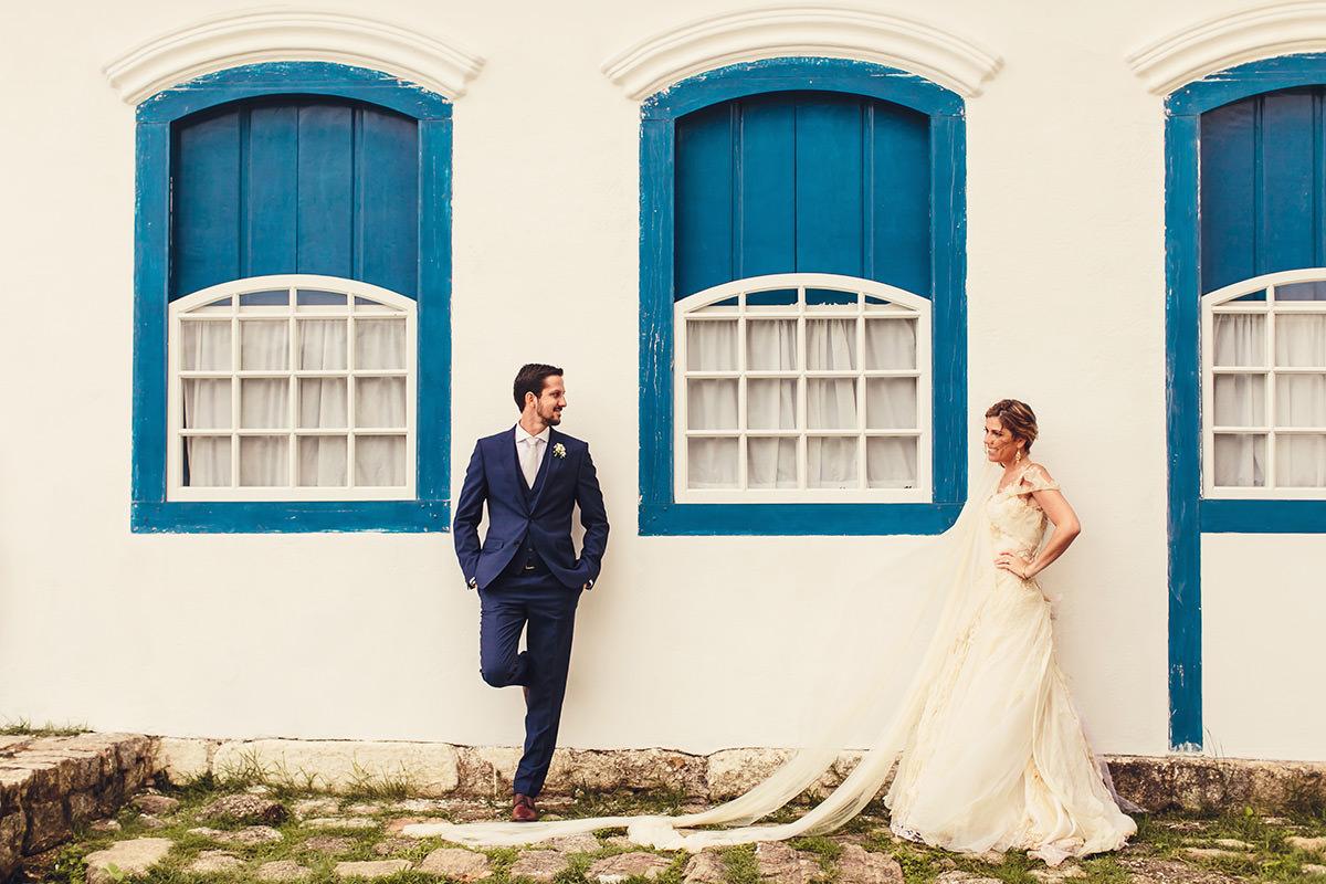 Ana e Fábio - Casamento em Paraty - Casa Marriah