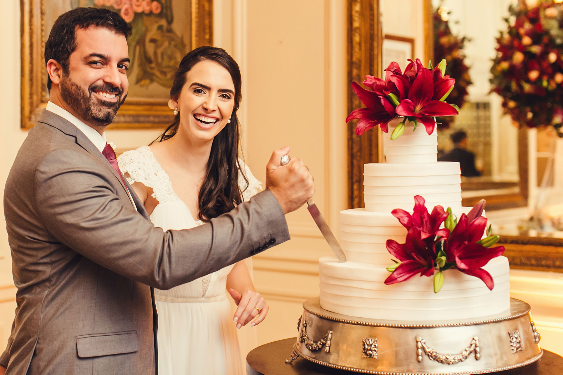 Beatriz e Lucas - Casamento na Confeitaria Colombo